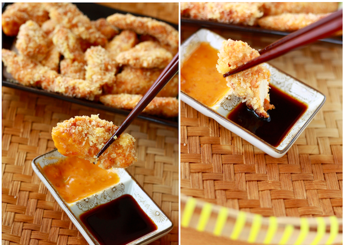 Chicken tenders with spicy peri peri sauce by Season with Spice