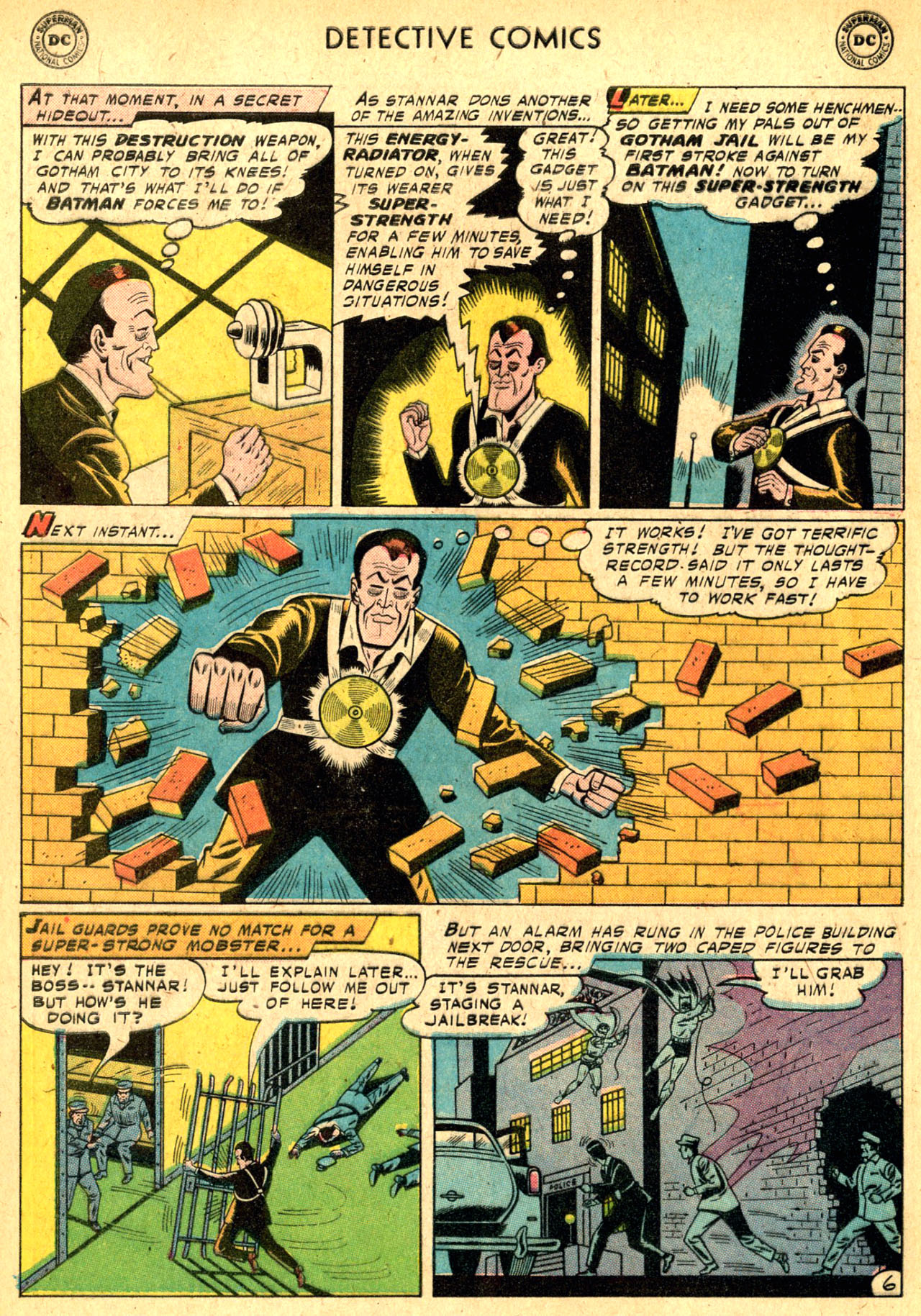 Read online Detective Comics (1937) comic -  Issue #250 - 8