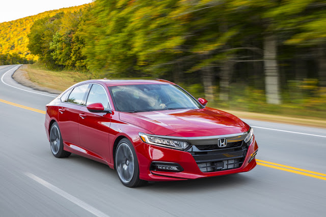2018 Honda Accord Named Best Car to Buy 2018 by Car Connection