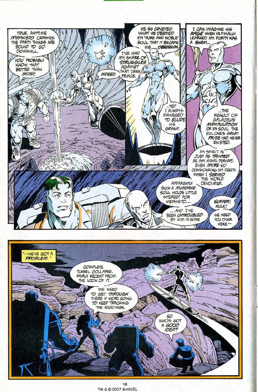 Read online Silver Surfer (1987) comic -  Issue #96 - 12