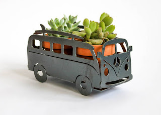 awesome eco-friendly 6th anniversary gift volkswagon planter