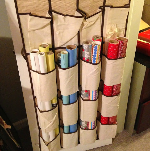 Keep wrapping paper safe