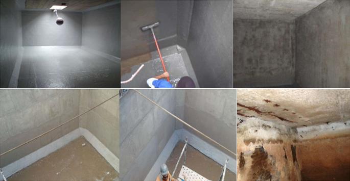 Impermeabilização de caixa d'água e reservatório em SP