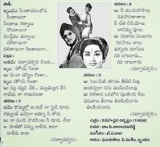 Prapanchapadulu || Songs Jukebox || Dr.C.Narayana Reddy ...