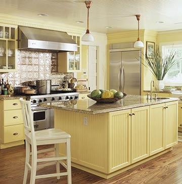 country kitchen paint color ideas & kitchen color ideas with oak ...