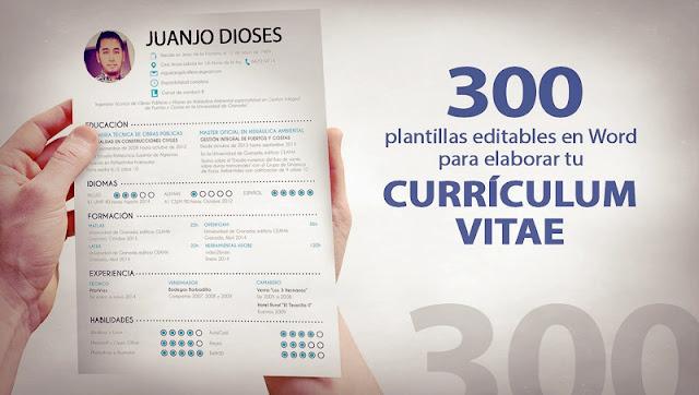 300 Plantillas Editables En Word Para Elaborar Tu Curri En Taringa