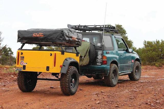 Suzuki Sidekick in Moab