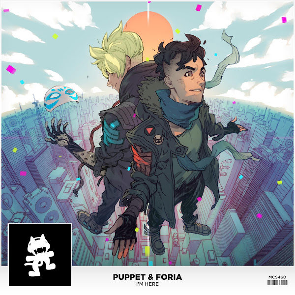 Puppet & Foria - I'm Here - Single Cover
