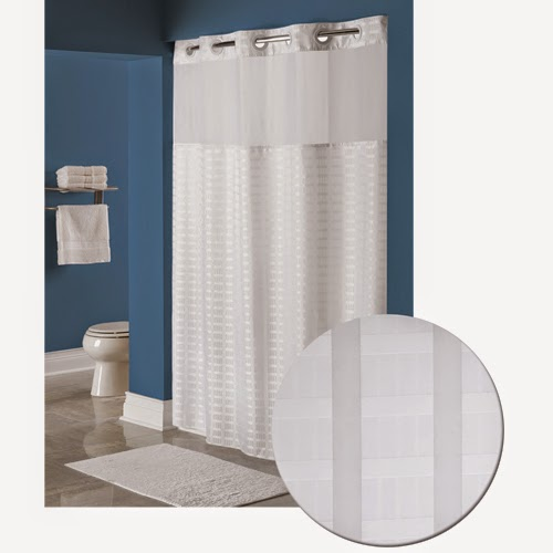 Get The Shower Curtain With Patented Hookless Technology That Literally Hangs And Unhangs In Seconds Seen Hotels For Years Can Now Be Your Home