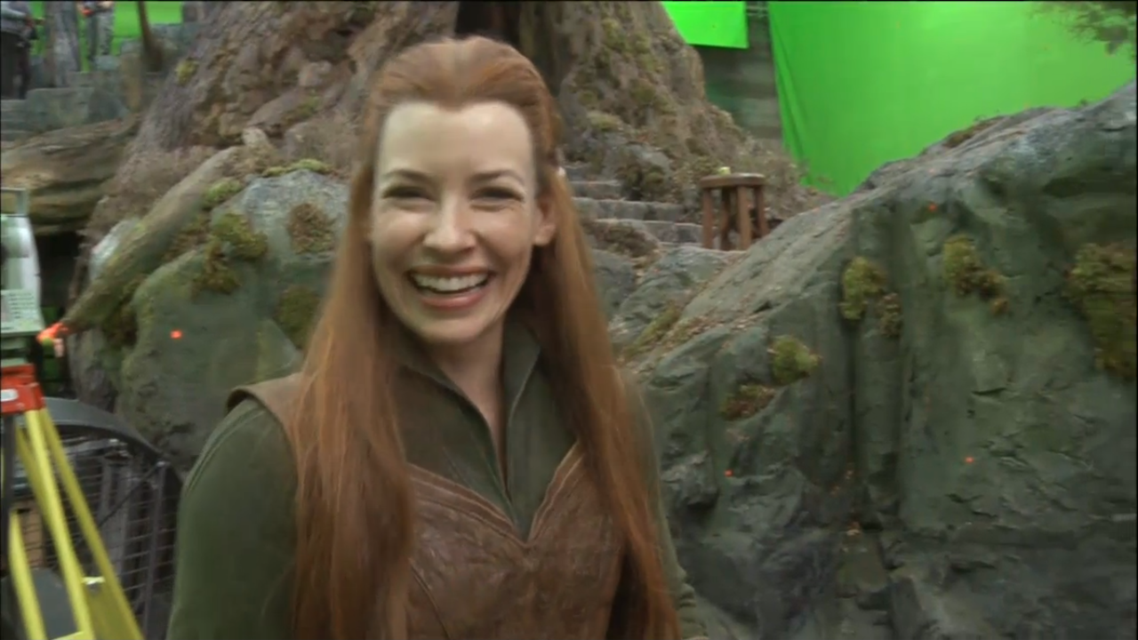 99walls evangeline lilly as tauriel in hobbit wallpapers