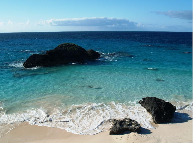 Beautiful Place Bermuda Island at North America