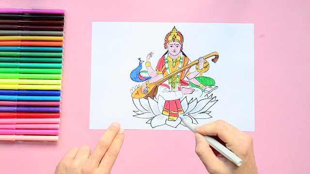 saraswati drawing,basant panchami,vasant panchami,drawing of basanth panchami easy,drawing of vasanth panchami easy,drawing of basant panchami,drawing of vasanth panchami,saraswati,basant panchami drawing easy,basant panchami 2019,basant panchami drawing,basant panchami ki drawing,basant panchami drawing images,maa saraswati drawing,saraswati puja on vasant panchami,drawing,saraswati devi drawing