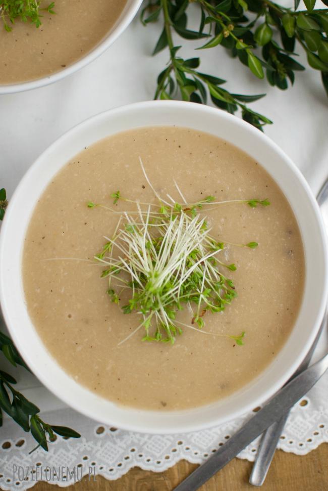 Wielkanocna zupa chrzanowa (krem)