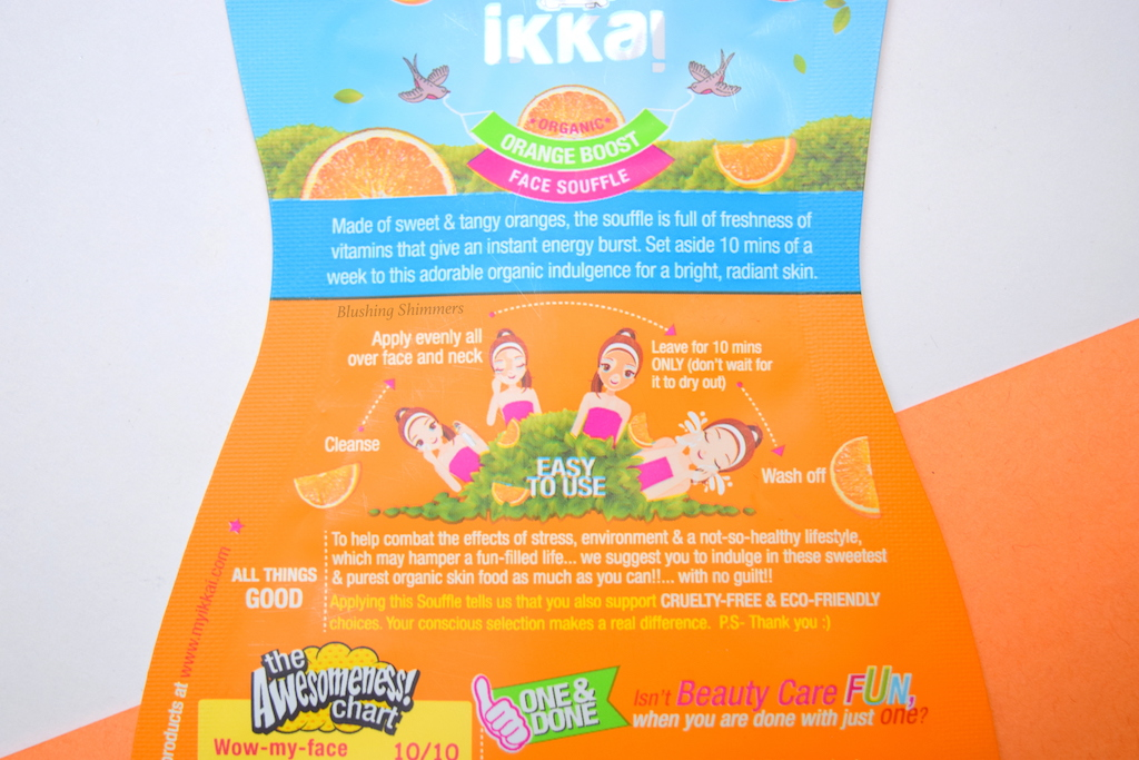 ikka Orange Boost Face Souffle review