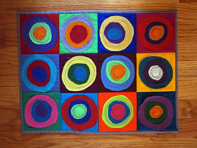 kandinsky quilt by rebekah