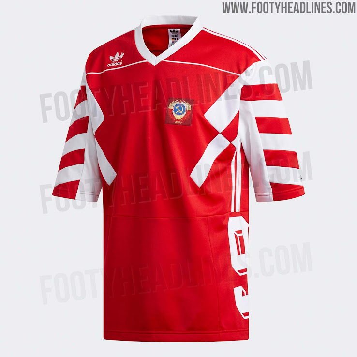 595481da1 OFFICIAL Pictures  Adidas Russia 2018 World Cup Mash-Up Jersey ...