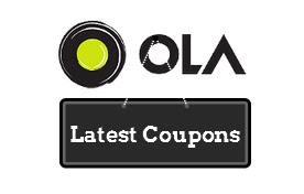 Ola Cabs Offers, Discount Coupon Codes & Promo Codes