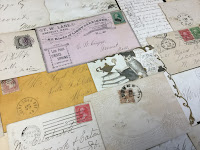 antique letters