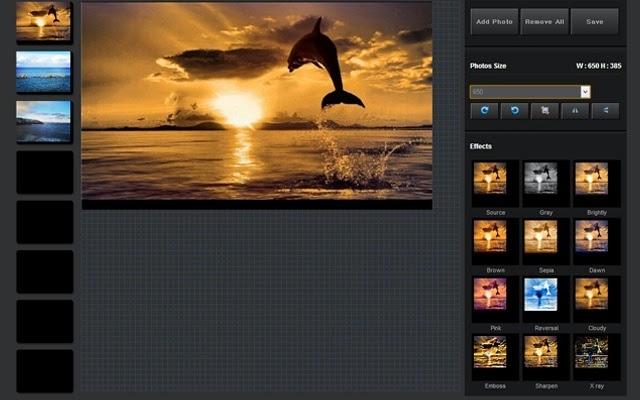 التعديل على الصور و إضافة عليها تأثيرات مباشرة من متصفحك جوجل كروم