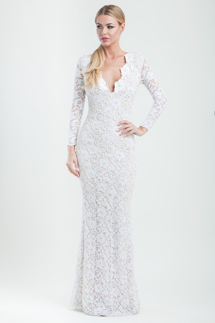 Cari's Closet, Dresses for Hire, Fashion, Irish Boutique's, Wedding Dresses, Eli Holt, Eli Holt Lace Dress, White Dresses, Lace Dresses, Black Tie Event Dresses