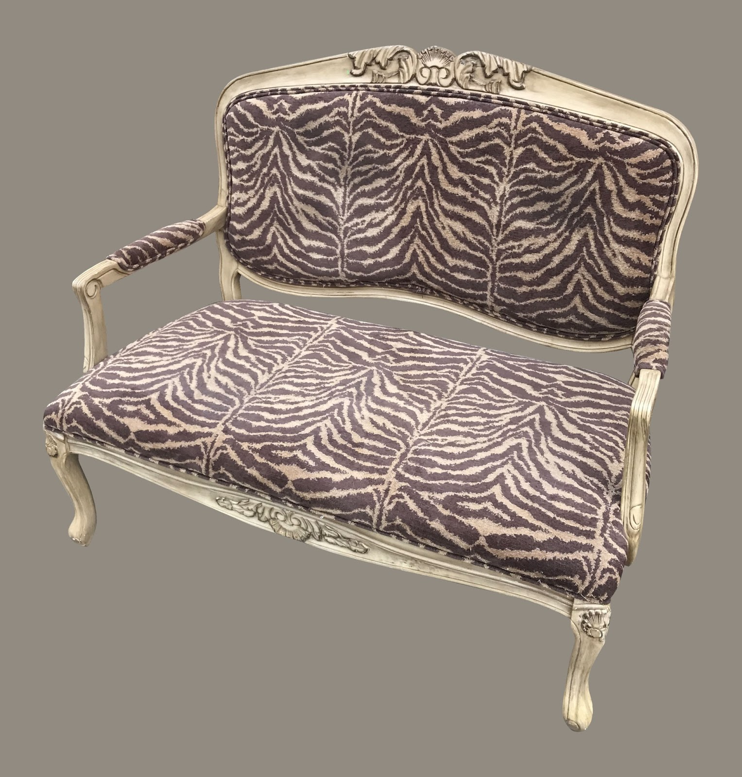 Uhuru Furniture Amp Collectibles Tiger Striped French