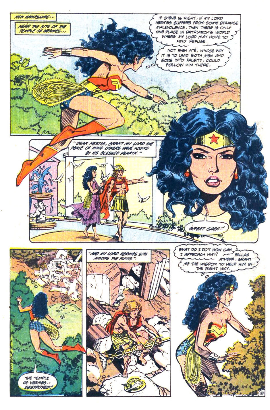 Read online Wonder Woman (1987) comic -  Issue #36 - 19