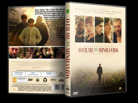 Capa DVD O Filme da Minha Vida [Custom]