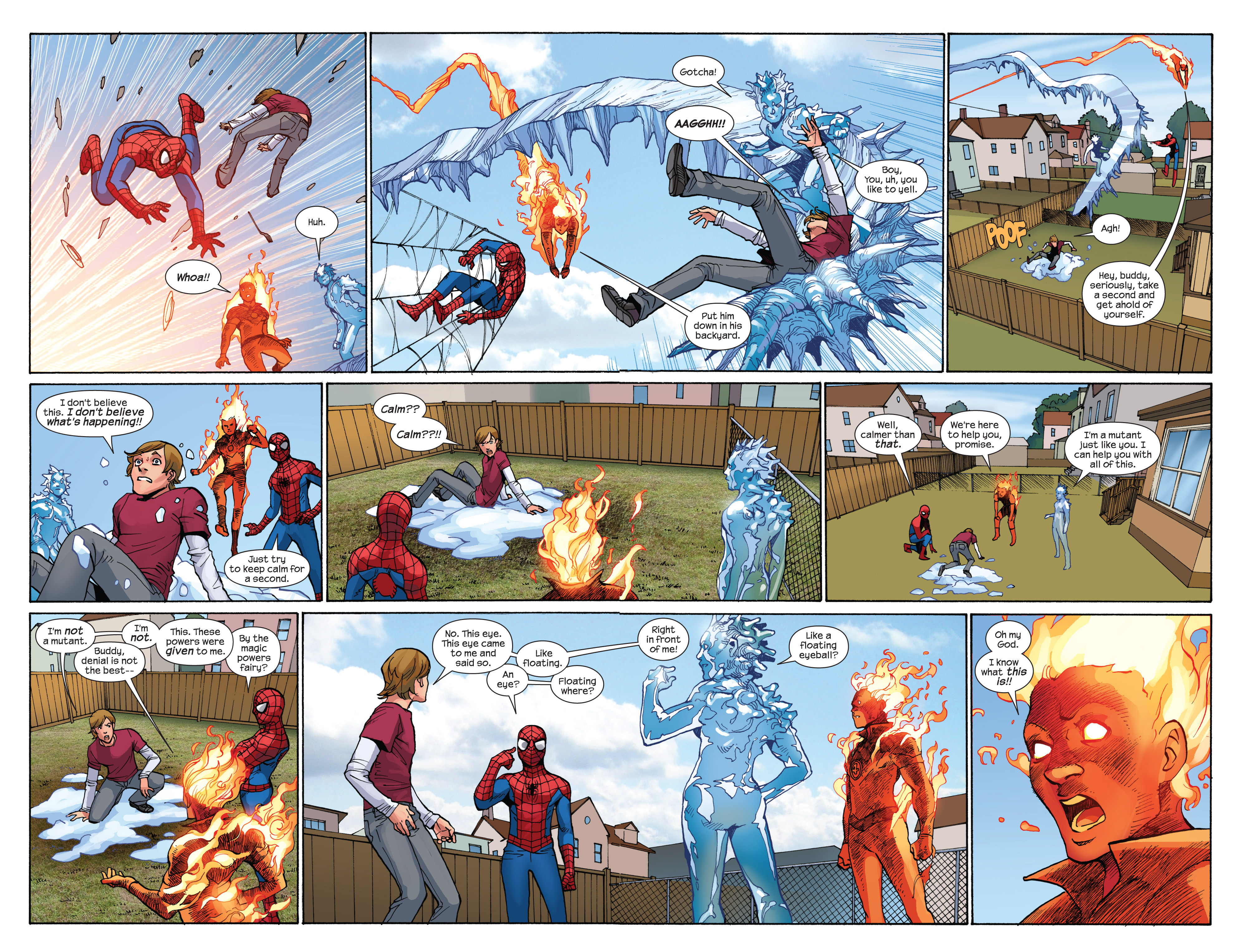 Read online Ultimate Spider-Man (2009) comic -  Issue #7 - 21