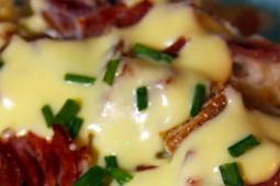 EASY BEST EGG CASSEROLE WITH CREAM FOR DINNER