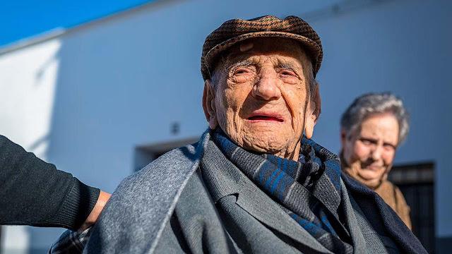 Pria Tertua di Dunia Asal Spanyol Meninggal di Usia 113 Tahun