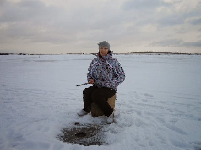 Рыбалка на Иртяше зимой