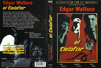 Carátula dvd: El delator (1963) (Der Zinker) (The Squeaker)