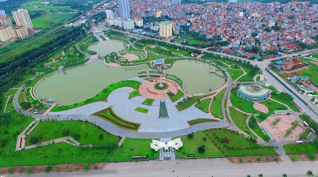 Công viên văn hóa thể thao rộng nhất Hà Đông ở ngay gần La Casta