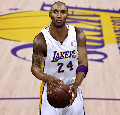 NBA 2K14 Kobe Bryant 2013 Tattos 2K Patch
