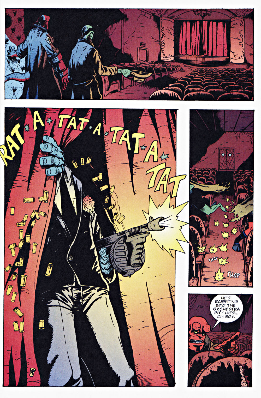 Read online Hellboy: Weird Tales comic -  Issue #7 - 13