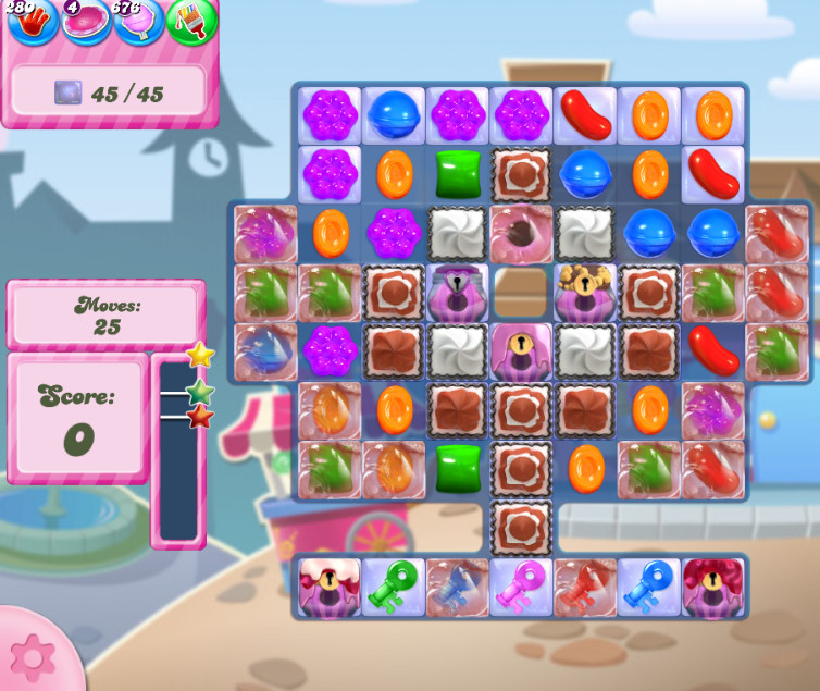 Candy Crush Saga level 2735