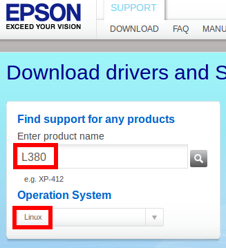 Linux Halwa: Install Epson L380 printer driver in Ubuntu