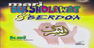 Cover VCD Album MariBersholawat Al Muqtshidah Langitan