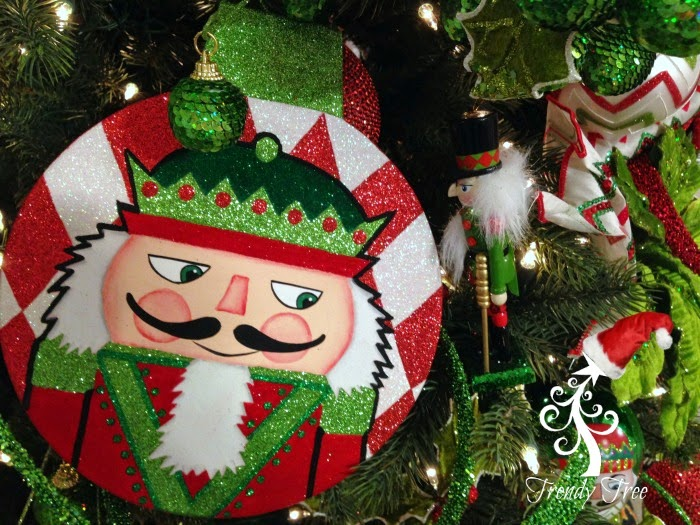 RAZ Flat Nutcracker Disk Ornament at Trendy Tree