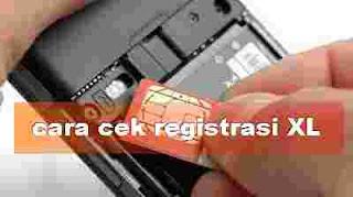 Cara cek registrasi kartu XL dan Cek registrasi smartfren