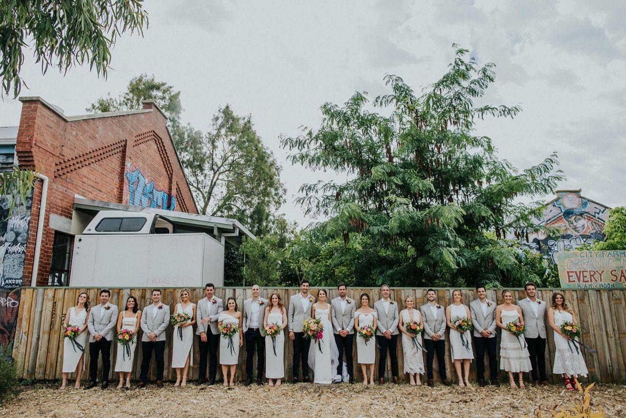 kate drennan photography perth real wedding australian bridal florals cake celebrant venue