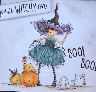 Heather's Hobbie Haven - Willow the Witch Card Kit