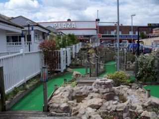 Pebble Adventure Golf course in Skegness, Lincolnshire