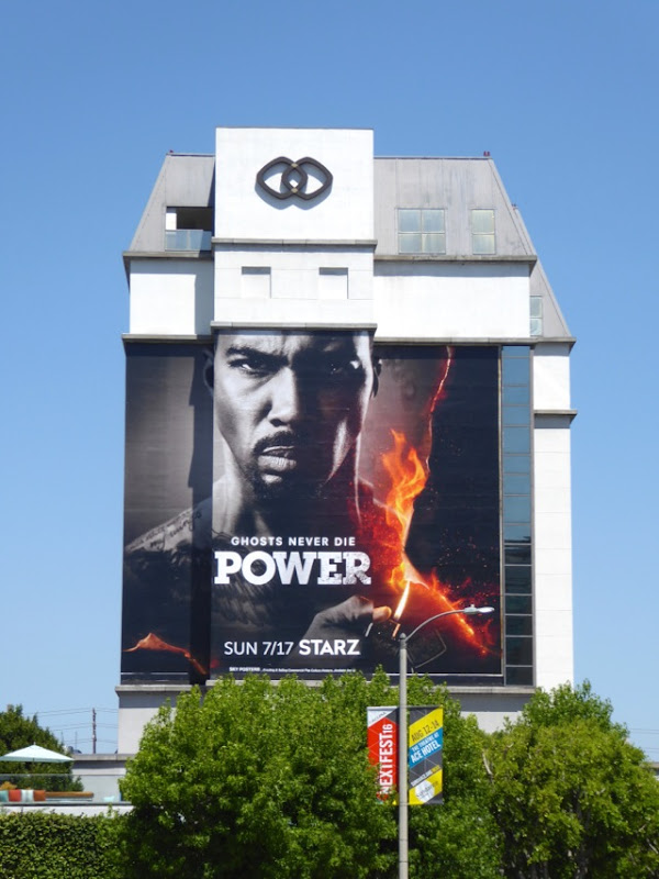 Omari Hardwick Power season 3 billboard