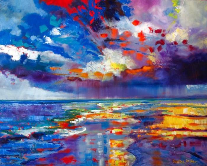 Яркие, контрастные цвета. Caroline Jasper