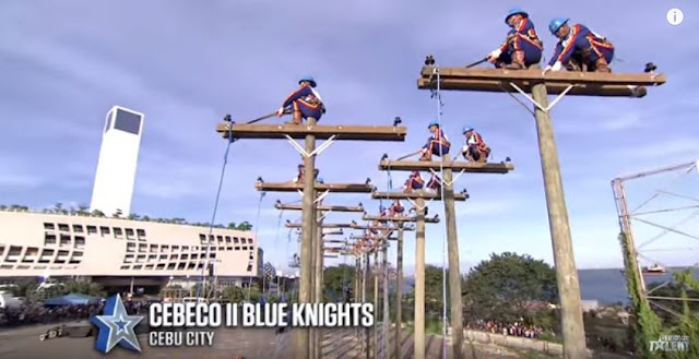 Breathtaking Performance Of Cebeco II Blue Knights From Cebu City Received A Standing Ovation From PGT Judges!