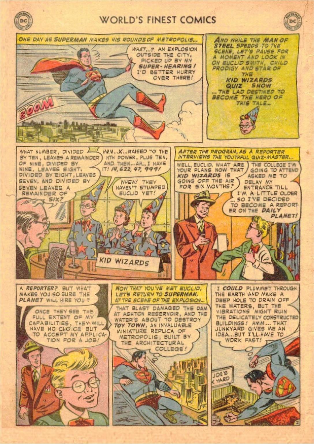 Read online World's Finest Comics comic -  Issue #58 - 4