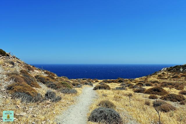 sla de Folegandros, Grecia