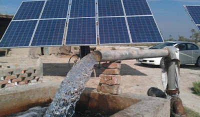 solar tube well project neem ka thana