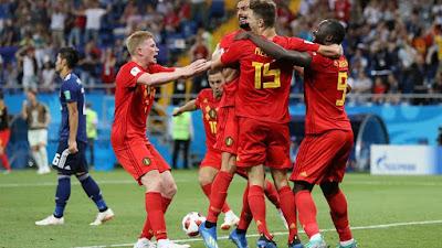 Highlight Belgia 3-2 Jepang, 2 Juli 2018